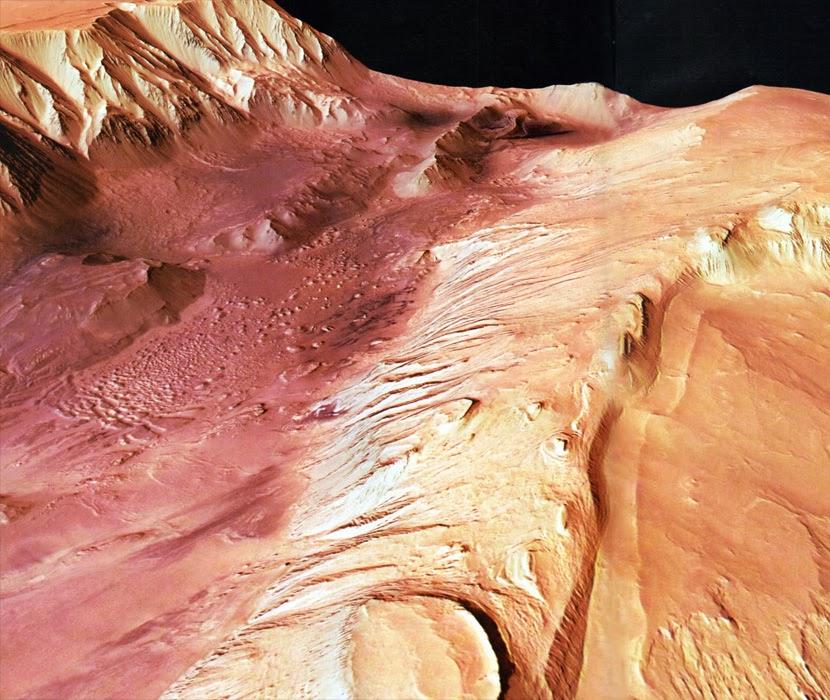 Resultado de imagen de La fascinación del planeta Marte y sus canales