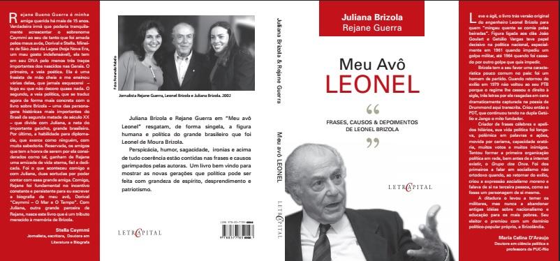 """Meu avô Leonel"", Juliana Brizola e Rejane Bueno Guerra"