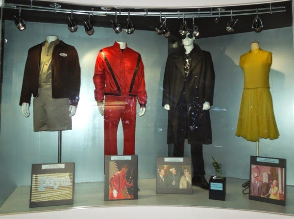 movie TV costumes display