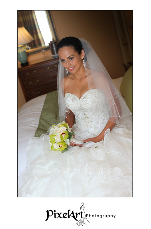 Ritz Carlton Wedding Bride