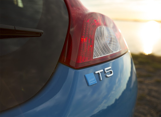 Rear detail of 2013 Volvo C30 T5 M R-Design