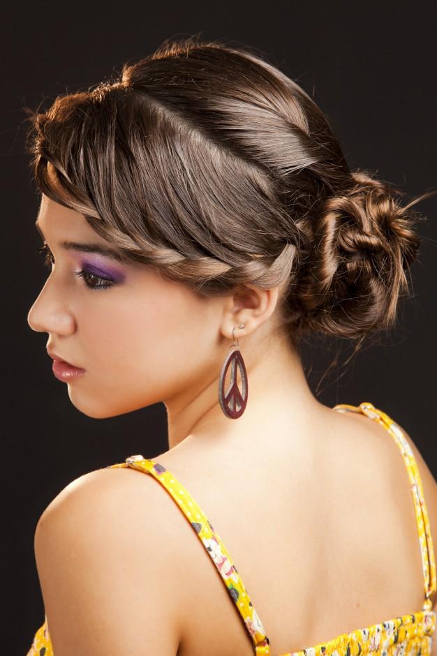 La moda en tu cabello peinados con trenzas para - Peinados recogidos con trenzas ...