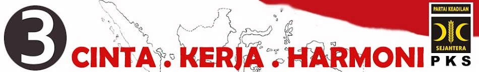 DENGAN CINTA, KERJA DAN HARMONI MENJADIKAN INDONESIA BANGKIT LEBIH BAIK