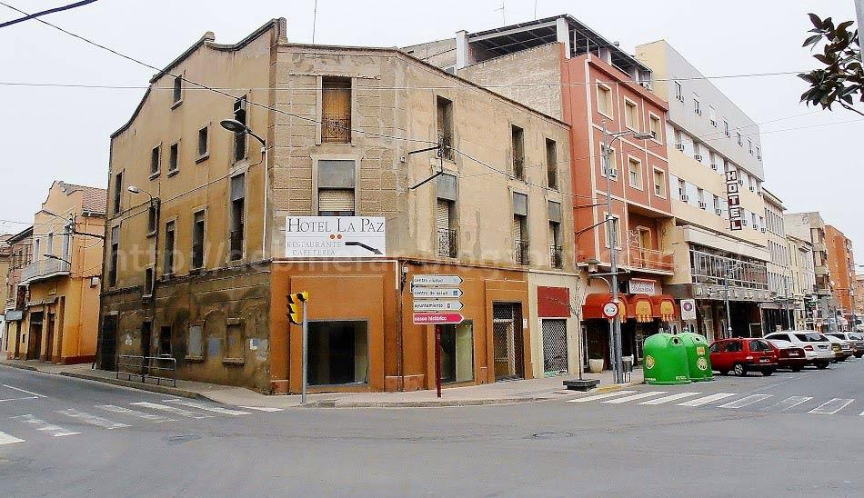 Hotel La Paz de Binéfar.