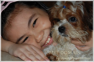 my niece dave and our beloved shih tzu maki