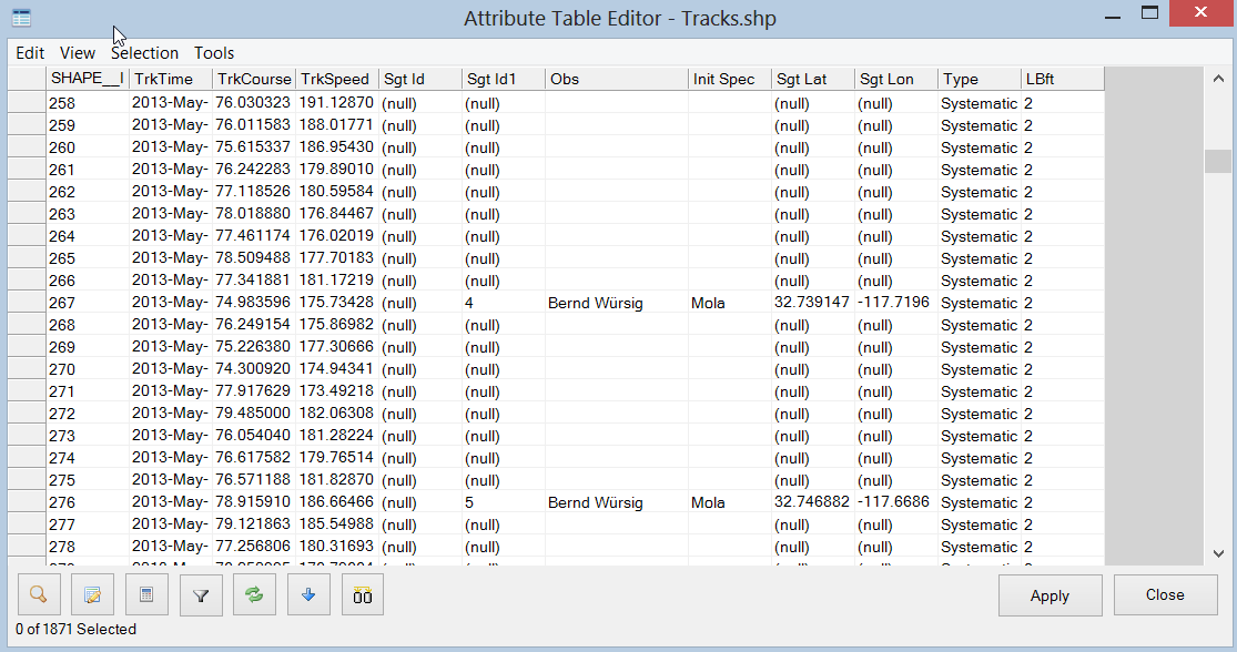 Configurable shapefile output better gps detection for Table tag attributes in html