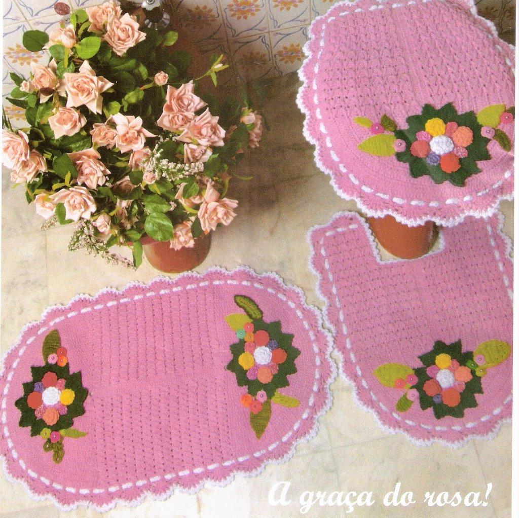 Crochet maison cuisine le monde creatif - Crochets salle de bain ...