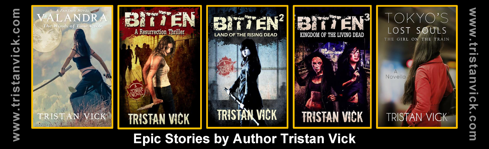 TRISTAN VICK'S AUTHOR WEBSITE
