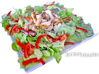 Salata de pui reteta