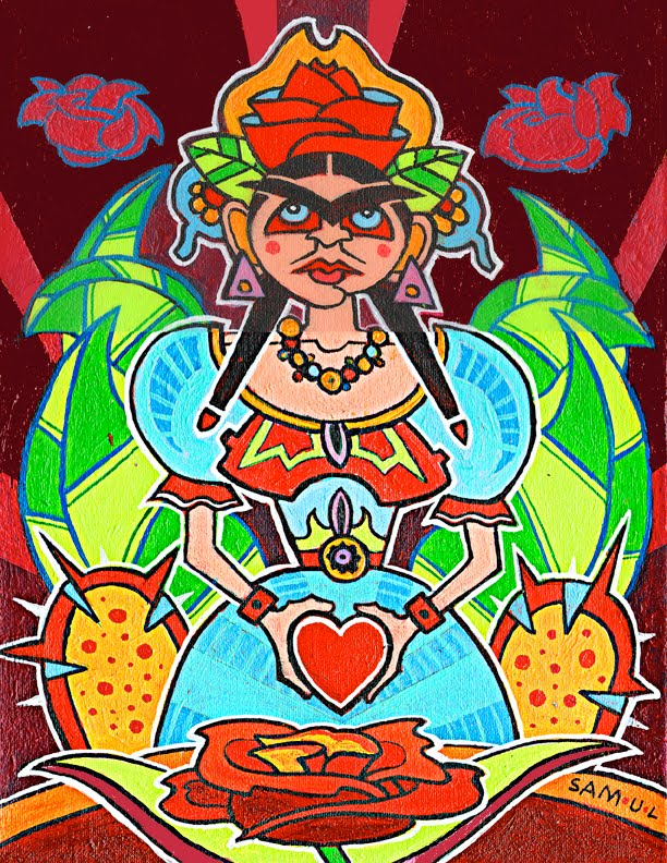 Frida de Colores