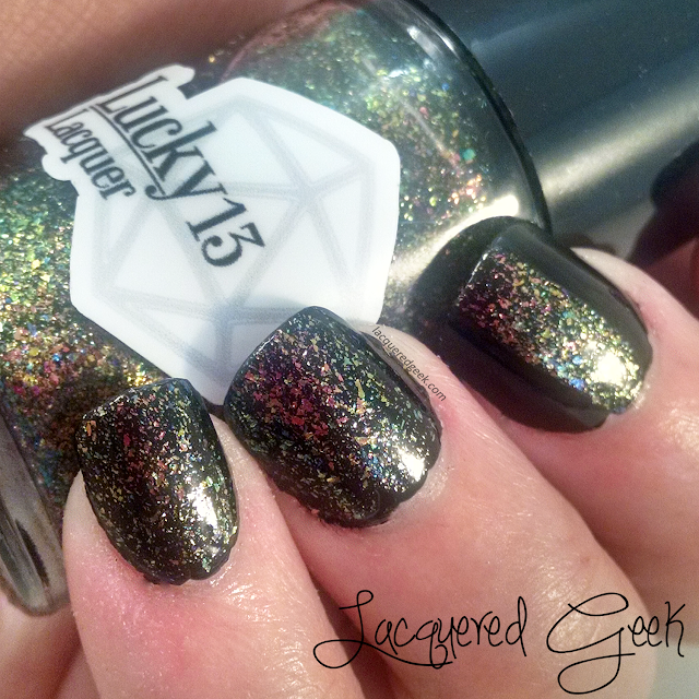 Aurora Borealis from Lucky 13 Lacquer swatch