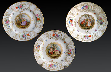 Porcelana Alemana Meissen S.XIX