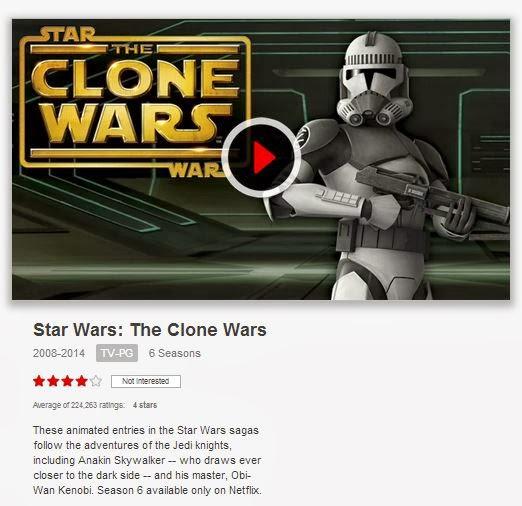 the clone wars netflix