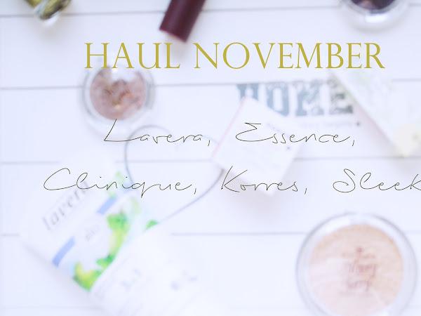 Нови придобивки / Ноември 2015: Lavera, Essence, Clinique, Korres, Sleek