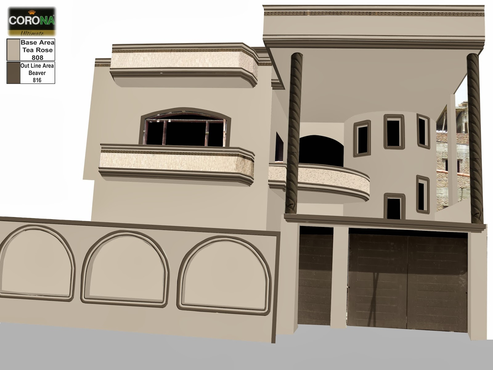 Front Elevation Colour Combination : Asian paints colours for front elevation joy studio