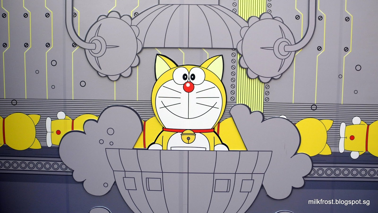 Image result for doraemon yellow