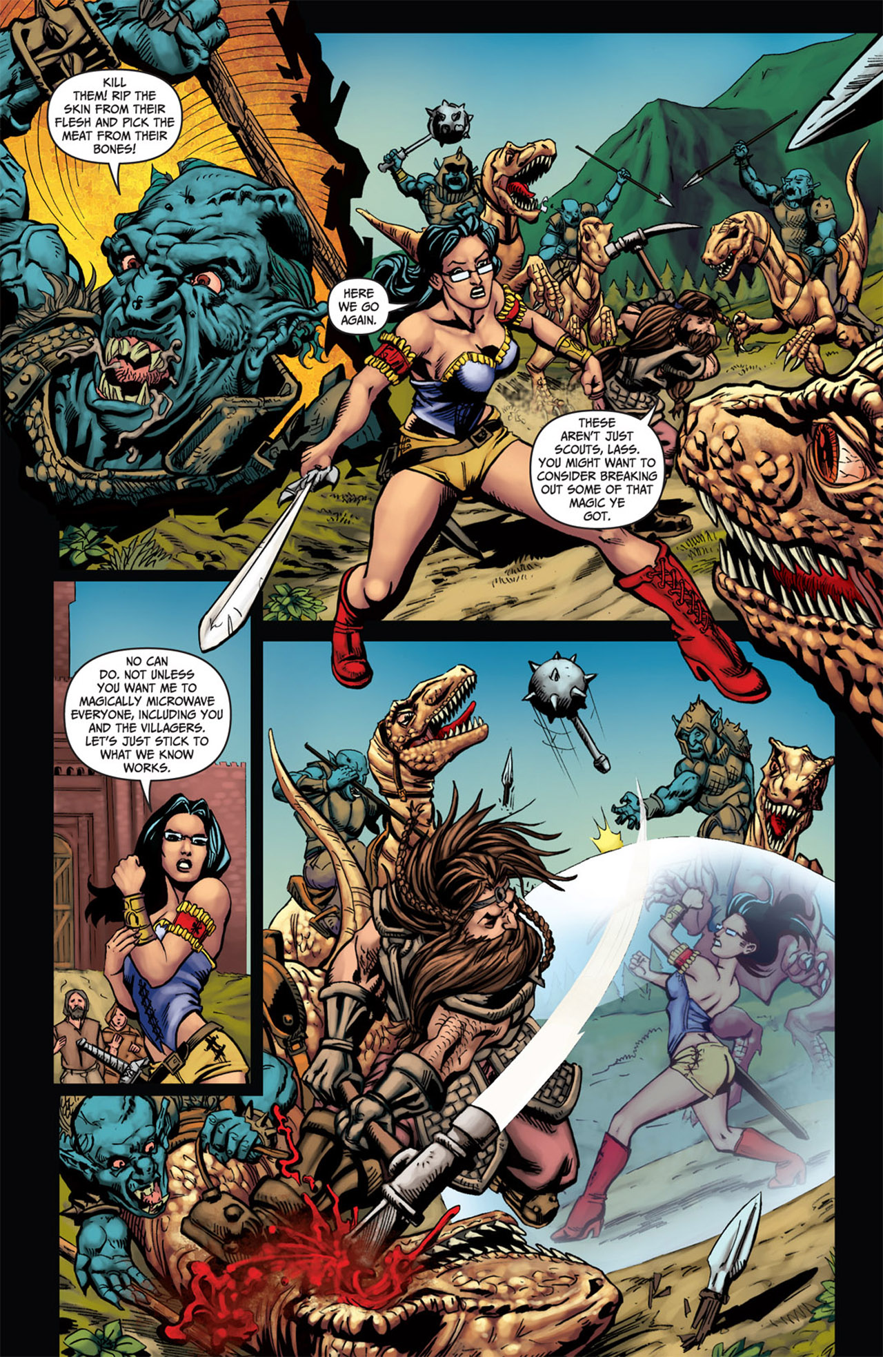 Grimm Fairy Tales (2005) Issue #58 #61 - English 5