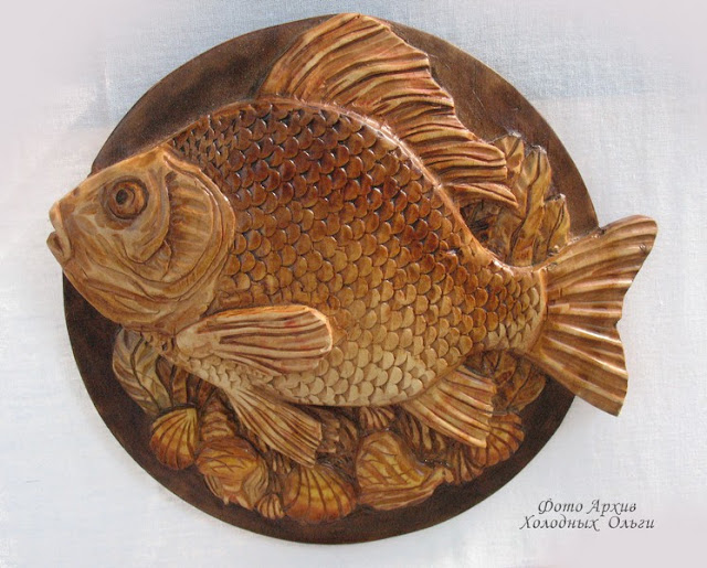Рыба резьба