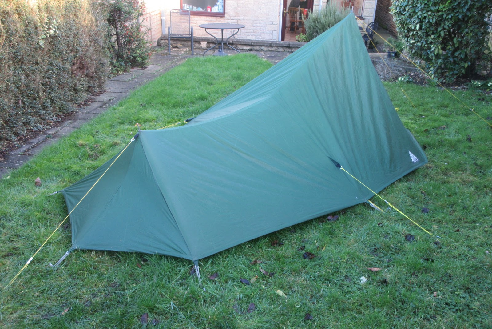 Ultra-lightweight hiking and backpacking & Ultra-lightweight hiking and backpacking: New tent!
