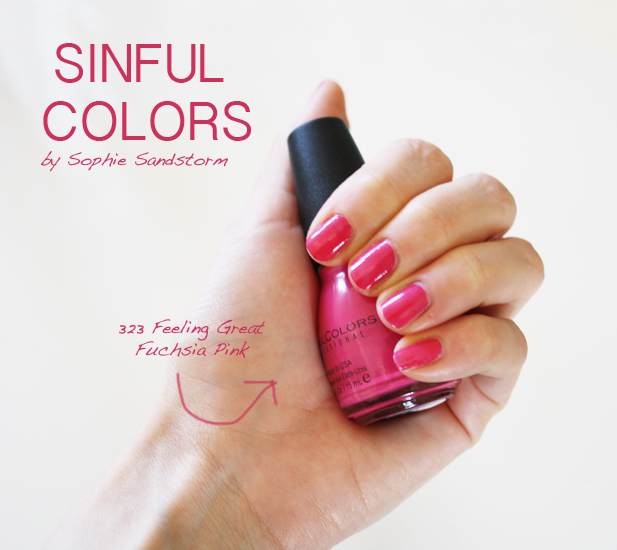 Sophie Sandstorm: Sinful Colors Professional Nail Polish Review ...