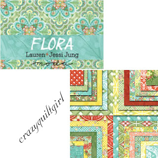 Moda FLORA Quilt Fabric by Lauren + Jessi Jung