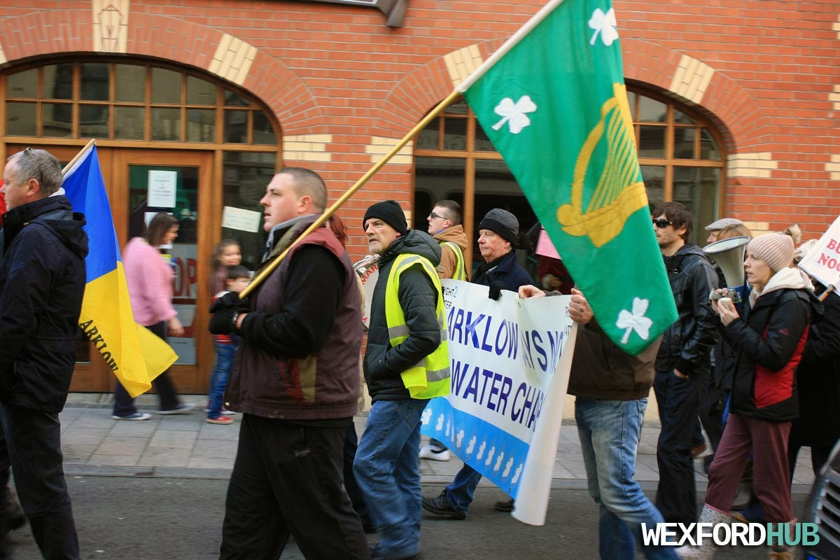 Wexford Water Protest