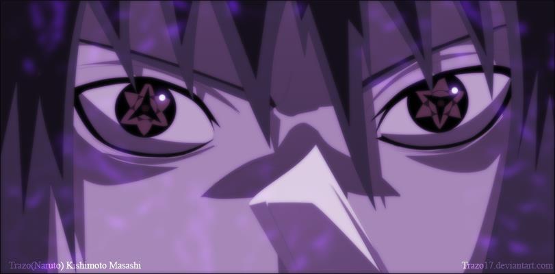 sasuke uchiha mangekyou sharingan wallpaper