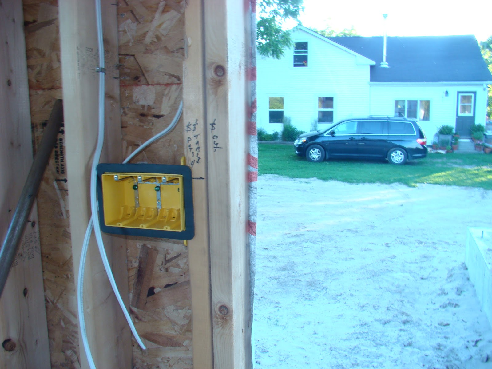 Building Walnut Farm: Electrical