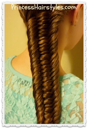 3 strand fishtail braid video tutorial