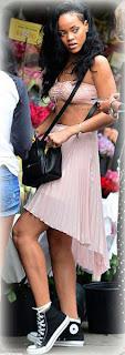 Rihanna la exhibicionista
