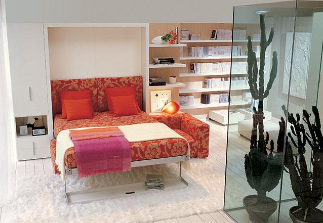Muebles multifuncionales para espacios reducidos muebles - Camas abatibles juveniles para espacios reducidos ...