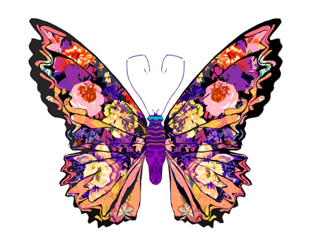 Butterfly pictures to print, Butterfly pictures for kids, Blue morpho ... Animated Pink Butterflies