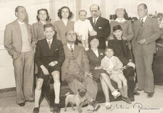 The family of Berlusconi