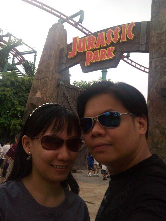 Universal Studios Singapore Jurassic Park