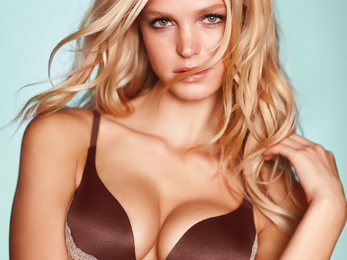 Erin Heatherton in sexy Victoria's Secret lingerie photoshoot
