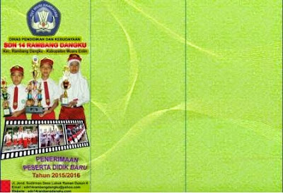 gambar brosur SD