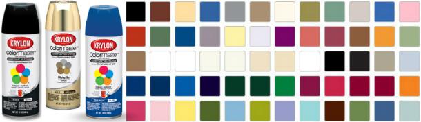 Image Gallery Krylon Spray Paint Colors