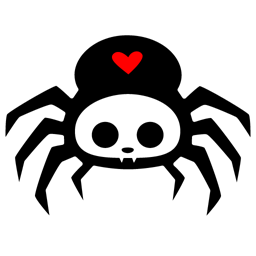 Spyder Bites logo (Credit: Mindy Weaver, IconBug, CC BY 3.0)