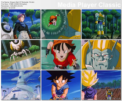 Download Film / Anime Dragon Ball GT Episode 19 Bahasa Indonesia