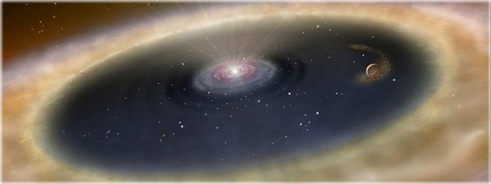 nascimento de planeta LkCa 15 b