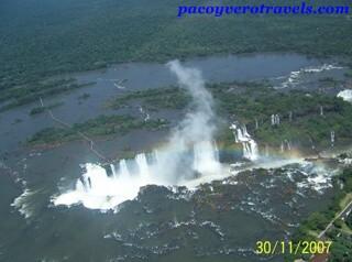 Sobrevuelo de las cataratas de Iguazu