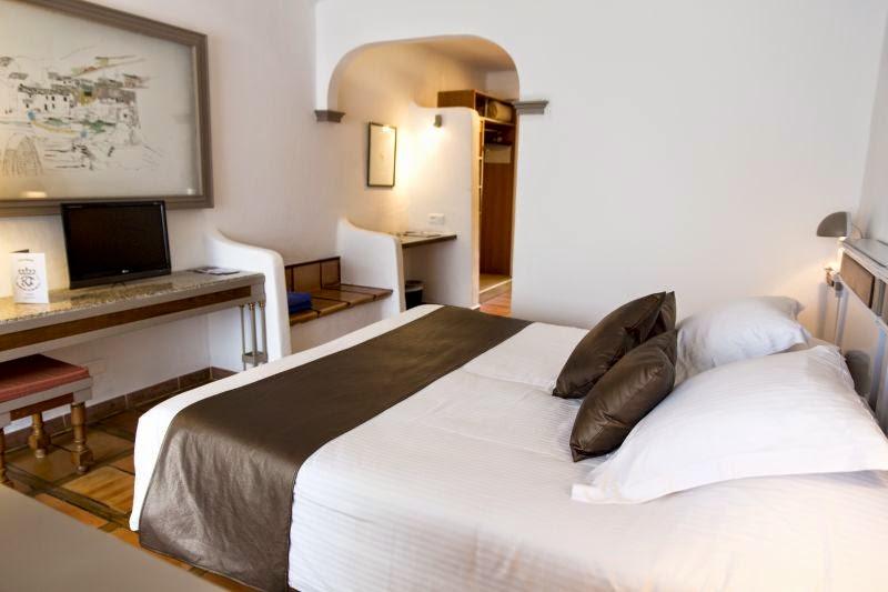 Chambre de l'Hôtel le Roi Théodore à Porto Vecchio