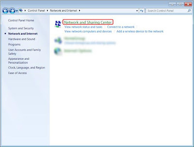 Open DNS Windows 7