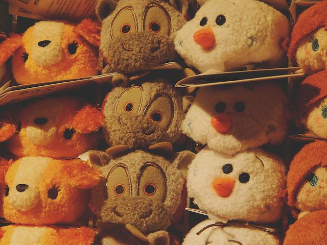 Lady, Sven, Olaf, Anna tsum tsums