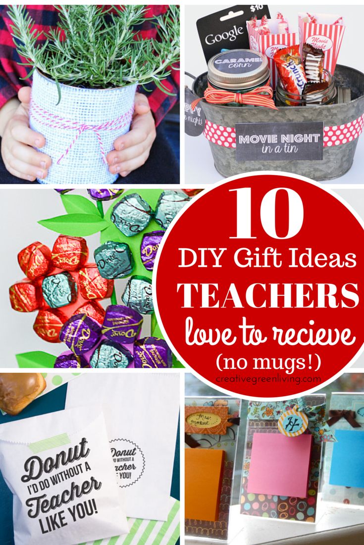 clever diy gift ideas for teachers no mugs allowed did you an idea you love be sure to pin it to save it for later