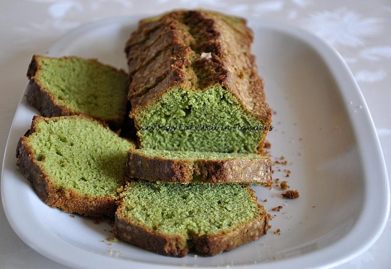 Matcha Green Tea Pound Cake Recipe