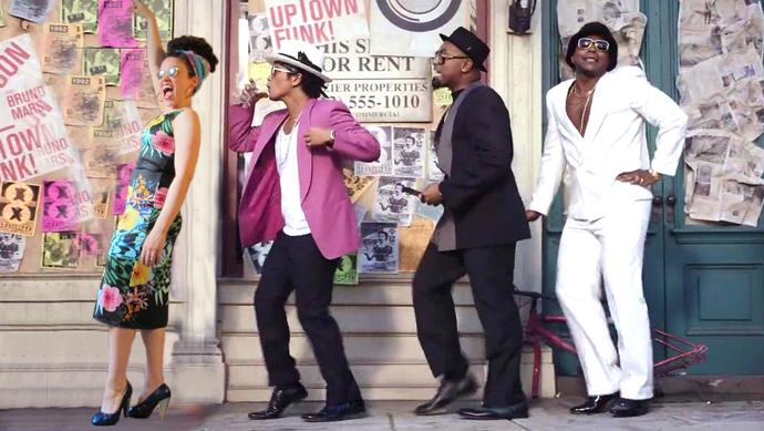 oonaballoona |uptown funk nettie dress | bruno mars