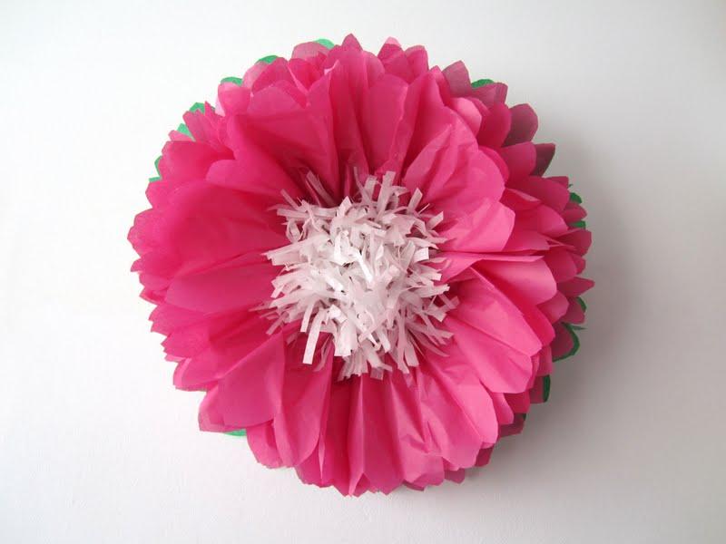 Mardefiesta flores de papel de seda - Como se hacen flores de papel ...