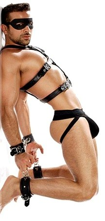 image Electric gay bondage he might be new but
