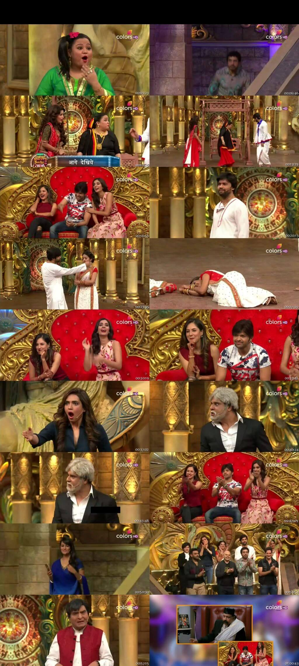 Screen Shot Of Comedy Nights Bachao Taaza 18th December 2016 Episode 63 300MB Watch Online